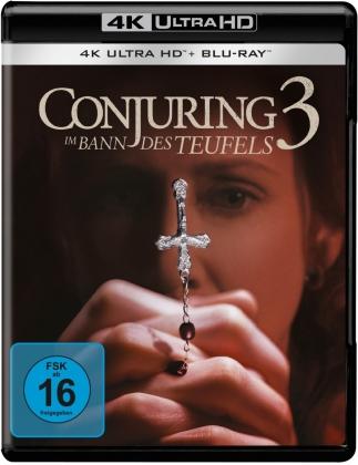 Conjuring 3 - Im Bann des Teufels (2021) (4K Ultra HD + Blu-ray)