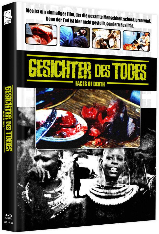 Gesichter des Todes (1978) (Cover C, + Bonusfilm, Limited Edition, Mediabook, Blu-ray + DVD)