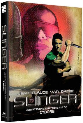 Slinger (1989) (Cover F, + Bonusfilm, Limited Edition, Mediabook, Blu-ray + DVD)