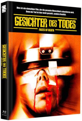 Gesichter des Todes (1978) (Cover F, + Bonusfilm, Limited Edition, Mediabook, Blu-ray + DVD)