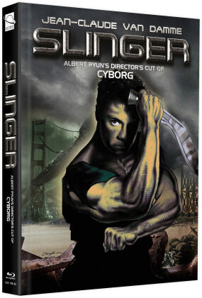 Slinger (1989) (Cover H, + Bonusfilm, Limited Edition, Mediabook, Blu-ray + DVD)
