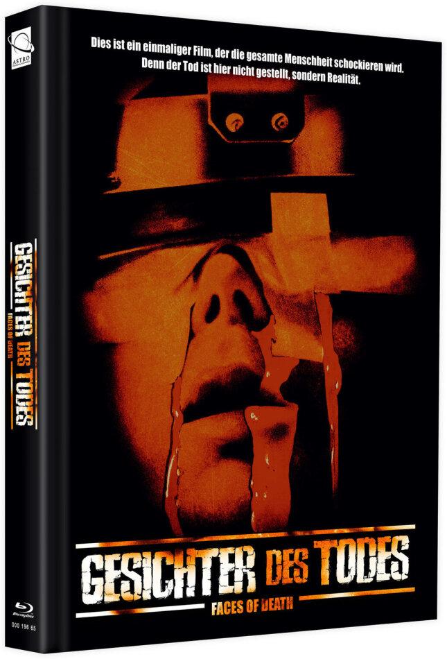 Gesichter des Todes (1978) (Cover D, + Bonusfilm, Edizione Limitata, Mediabook, Blu-ray + DVD)