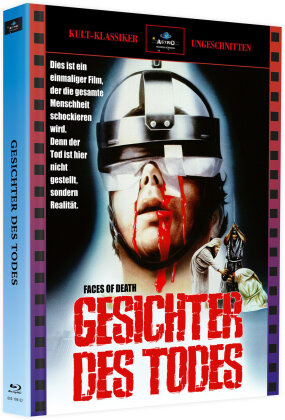 Gesichter des Todes (1978) (Kult-Klassiker Ungeschnitten, Cover A, + Bonusfilm, Limited Edition, Mediabook, Blu-ray + DVD)