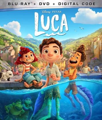 Luca (2021) (Blu-ray + DVD)