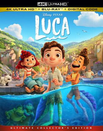 Luca (2021) (Ultimate Collector's Edition, 4K Ultra HD + Blu-ray)