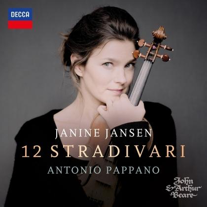 Antonio Pappano & Janine Jansen - 12 Stradivari