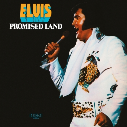 Elvis Presley - Promised Land (2021 Reissue, limited to 2500 Copies, Music On Vinyl, Limited Edition, Transparent/White Marbled Vinyl, LP)