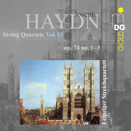 Leipziger Streichquartett & Joseph Haydn (1732-1809) - String Quartets Vol. 13