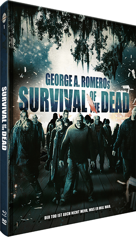 Survival of the Dead (2009) (Cover B, Limited Edition, Mediabook, Blu-ray + DVD)