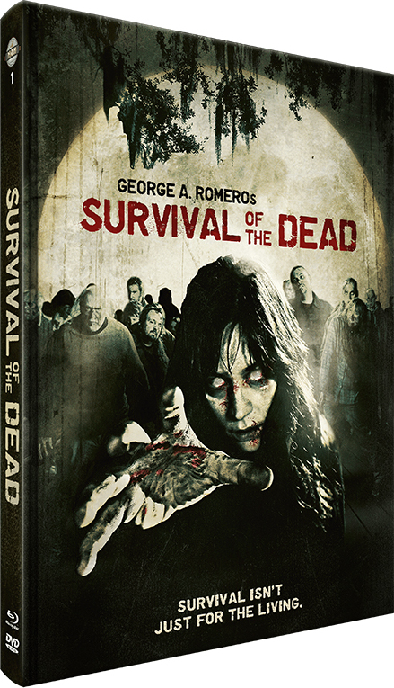 Survival of the Dead (2009) (Cover C, Limited Edition, Mediabook, Blu-ray + DVD)
