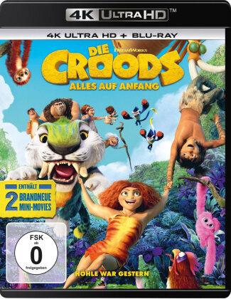 Die Croods 2 - Alles auf Anfang (2020) (4K Ultra HD + Blu-ray)