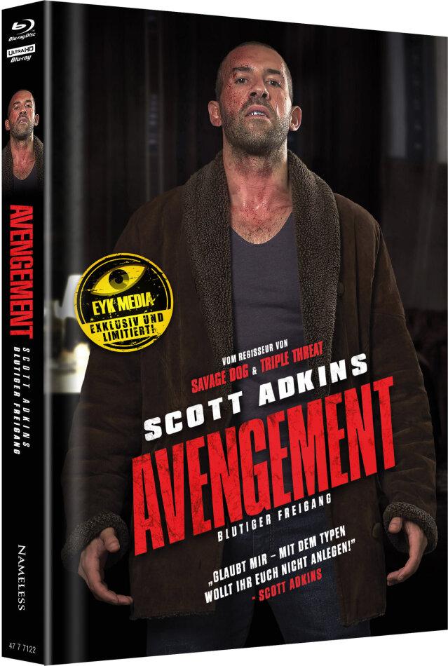 Avengement - Blutiger Freigang (2019) (Cover H, Edizione Limitata, Mediabook, Uncut, 4K Ultra HD + Blu-ray)