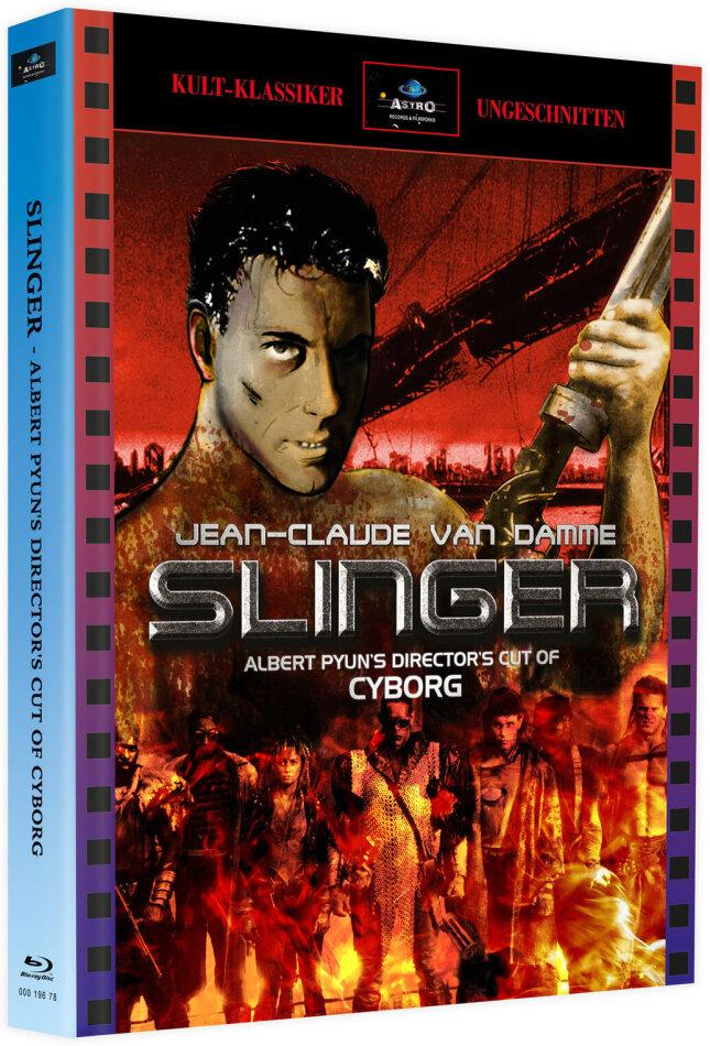 Slinger (1989) (Cover A, + Bonusfilm, Kult-Klassiker Ungeschnitten, Limited Edition, Mediabook, Blu-ray + DVD)