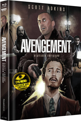 Avengement - Blutiger Freigang (2019) (Cover G, Limited Edition, Mediabook, Uncut, 4K Ultra HD + Blu-ray)