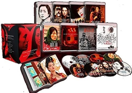 Collaborations: The Cinema Of Zhang Yimou & Gong Li (Limited Edition, 8 Blu-rays)