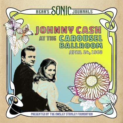 Johnny Cash - Bear's Sonic Journals: Carousel Ballroom 4/24/68 (Colored, 2 LPs)
