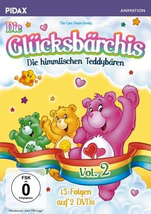 Die Glücksbärchis - Vol. 2 (Pidax Animation, 2 DVDs)