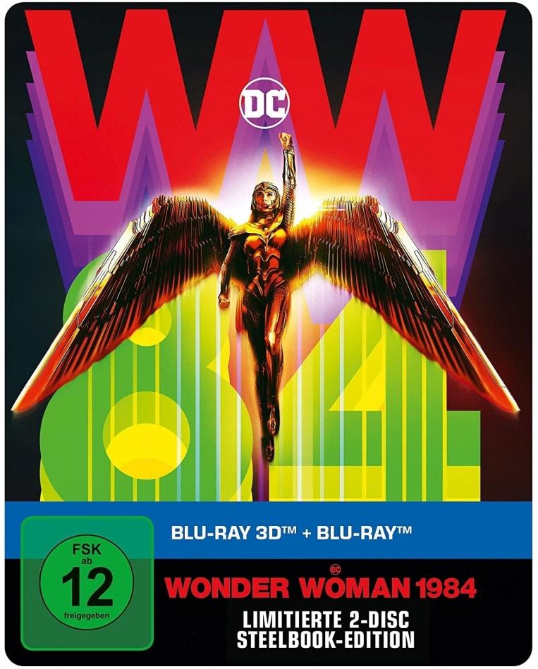 Wonder Woman 1984 (2020) (Limited Edition, Steelbook, Blu-ray 3D + Blu-ray)