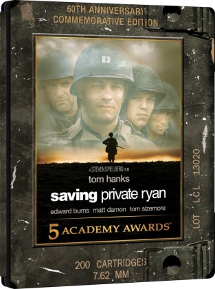 Salvate il soldato Ryan (1998) (Limited Edition, Steelbook, 4K Ultra HD + 2 Blu-rays)