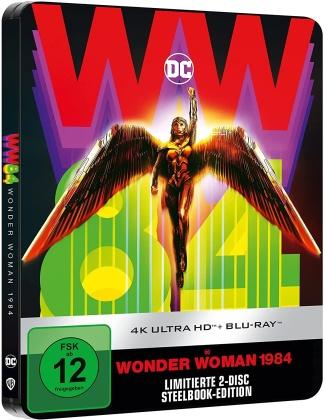 Wonder Woman 1984 (2020) (Limited Edition, Steelbook, 4K Ultra HD + Blu-ray)