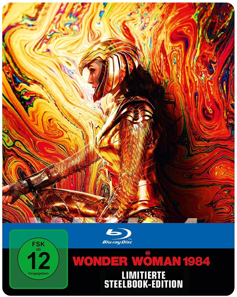 Wonder Woman 1984 (2020) (Limited Edition, Steelbook)