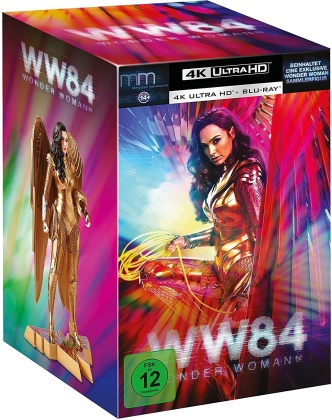 Wonder Woman 1984 (2020) (mit Figur, Ultimate Collector's Edition, Limited Edition, Steelbook, 4K Ultra HD + Blu-ray)