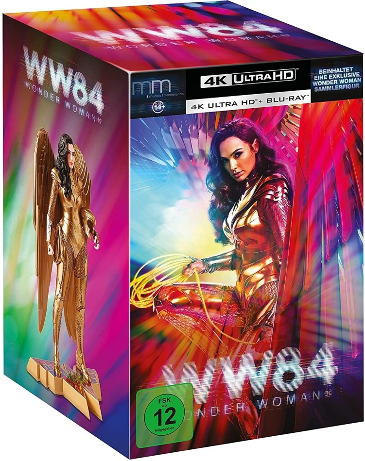 Wonder Woman 1984 (2020) (with Figurine, Ultimate Collector's Edition, Limited Edition, Steelbook, 4K Ultra HD + Blu-ray)