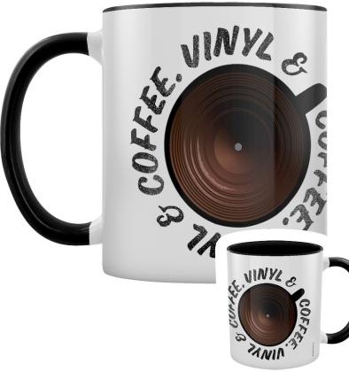Coffee & Vinyl - Black Inner 2-Tone Mug
