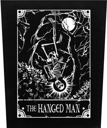 Deadly Tarot: The Hanged Man - Back Patch