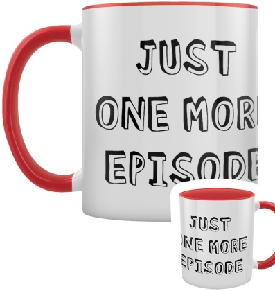 Just One More Episode - Red Inner 2-Tone Mug