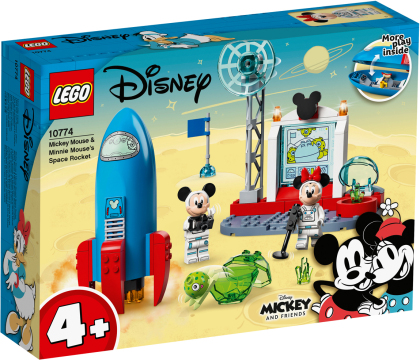 Weltraumrakete Mickey Mouse - und Minnie Mouse, Lego