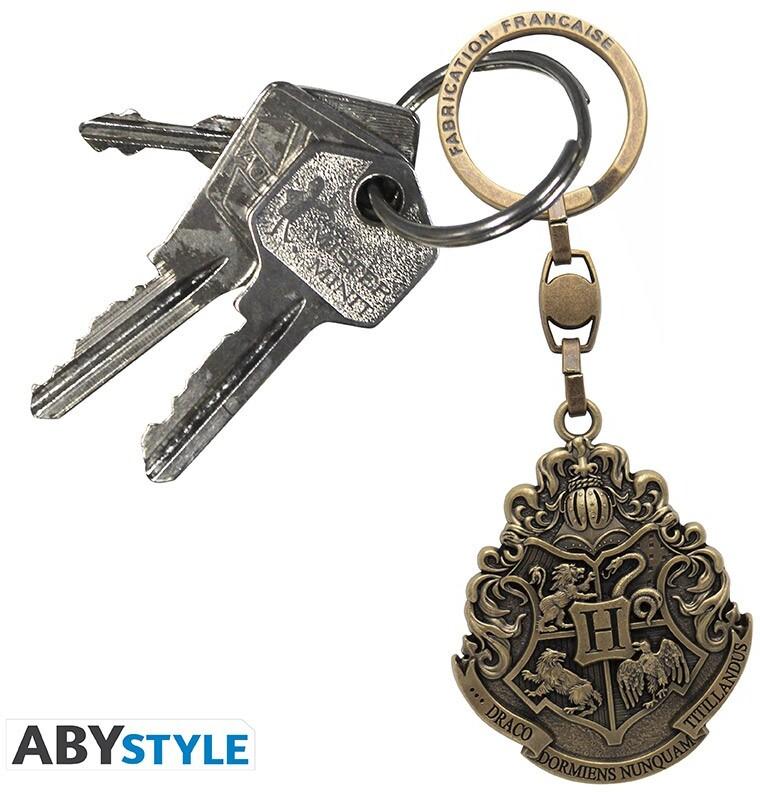 Porte-clef 3D - Harry Potter - Emblème Poudlard - Made in France