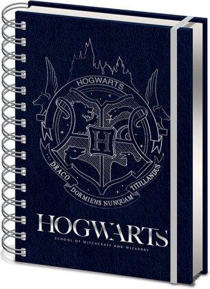 Carnet de Notes - Crest - Harry Potter - A5 (21 x 14.9cm) - 21 cm