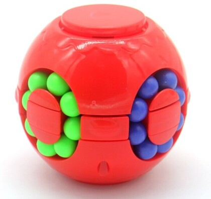 Fidget IQ Puzzle Ball red