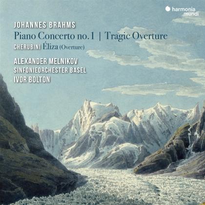 Sinfonieorchester Basel, Johannes Brahms (1833-1897), Luigi Cherubini (1760-1842), Ivor Bolton & Alexander Melnikov - Piano Concerto No. 1 / Tragic Overture / Eliza (Ouvert.)
