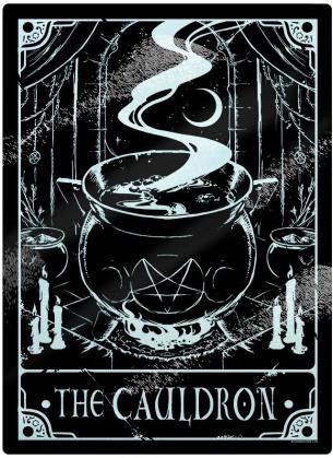 Deadly Tarot: The Cauldron - Small Chopping Board