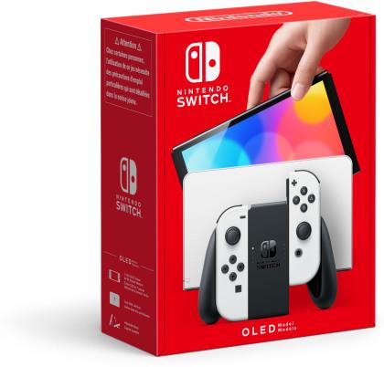 Nintendo Switch Konsole OLED - White