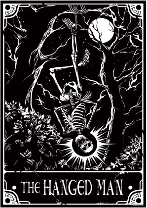 Deadly Tarot: The Hanged Man - Mini Poster