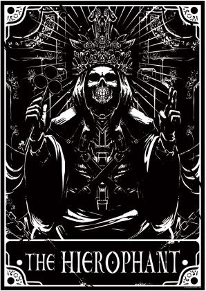Deadly Tarot: The Hierophant - Mini Poster