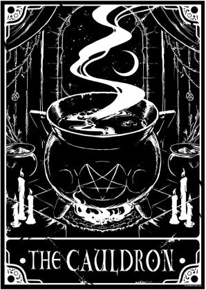 Deadly Tarot: The Cauldron - Mini Poster