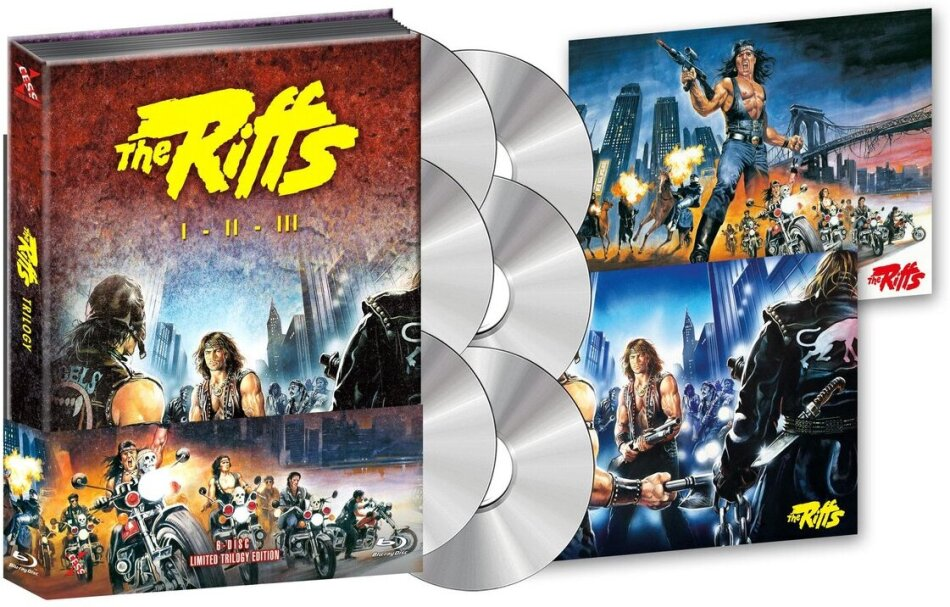 The Riffs 1-3 - Trilogy (Wattiert, Limited Collector's Edition, Mediabook, 3 Blu-rays + 3 DVDs)