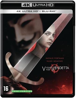 V pour Vendetta (2005) (4K Ultra HD + Blu-ray)