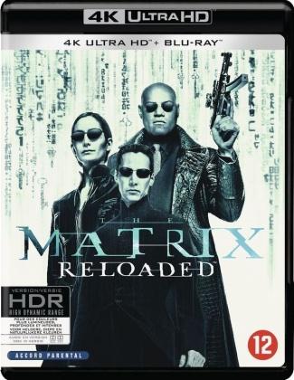 Matrix Reloaded (2003) (4K Ultra HD + Blu-ray)