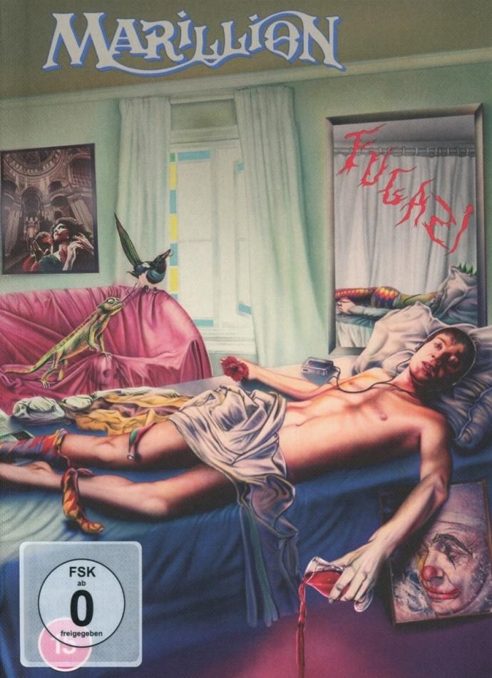 Marillion - Fugazi (2021 Reissue, Deluxe Edition, 3 CDs + Blu-ray)