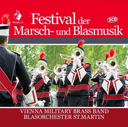 Vienna Military Brass Band-Blasorchester St.Martin - Festival der Marsch- und Blasmusik (2 CD)