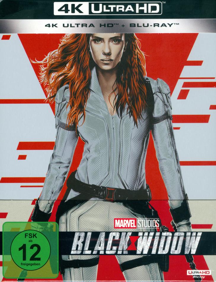 Black Widow (2021) (Edizione Limitata, Steelbook, 4K Ultra HD + Blu-ray)