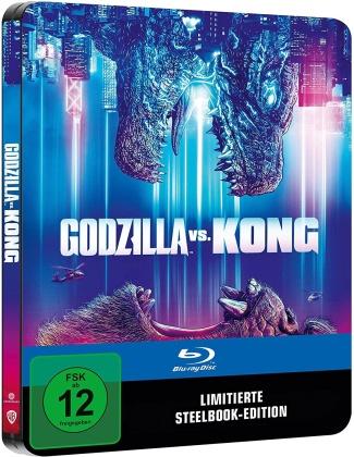 Godzilla vs. Kong (2021) (Limited Edition, Steelbook)