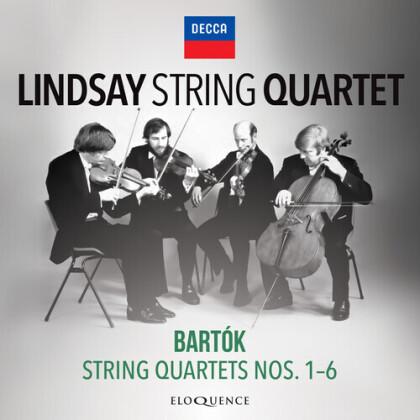 Lindsay String Quartet & Béla Bartók (1881-1945) - String Quartets 1-6 (Eloquence Australia)