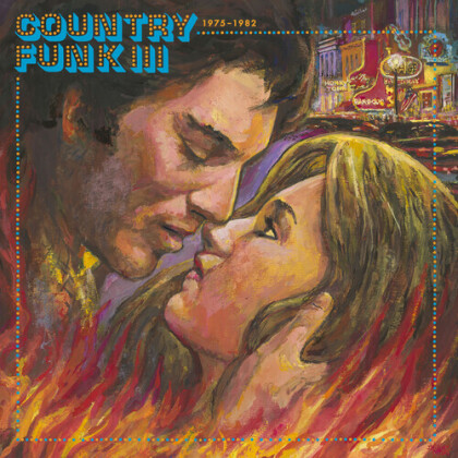 Country Funk Vol. 3 1975-1982 (Light In The Attic, Limited Edition, Remastered, Blue/Red/Clear Vinyl, 2 LPs)