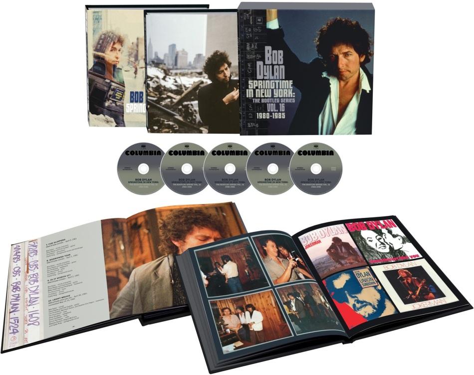 Bob Dylan - Springtime In NY - Bootleg Series 16 (1980-1985) (5 CDs)